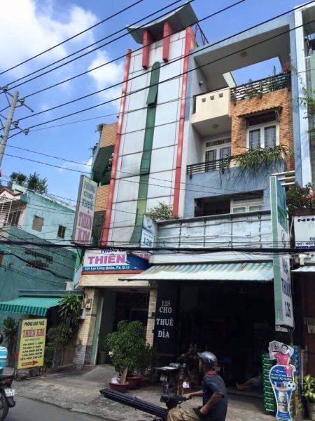 Bán khách sạn mặt tiền Lạc Long Quân-phường 3-quận 11-tp.HCM, DT 4X17m, giá 9,2 Tỷ