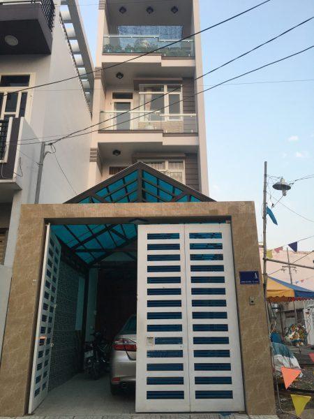 Bán nhà hẻm lớn Phạm Văn Chiêu, p.9, Gò Vấp, diện tích 4x22m