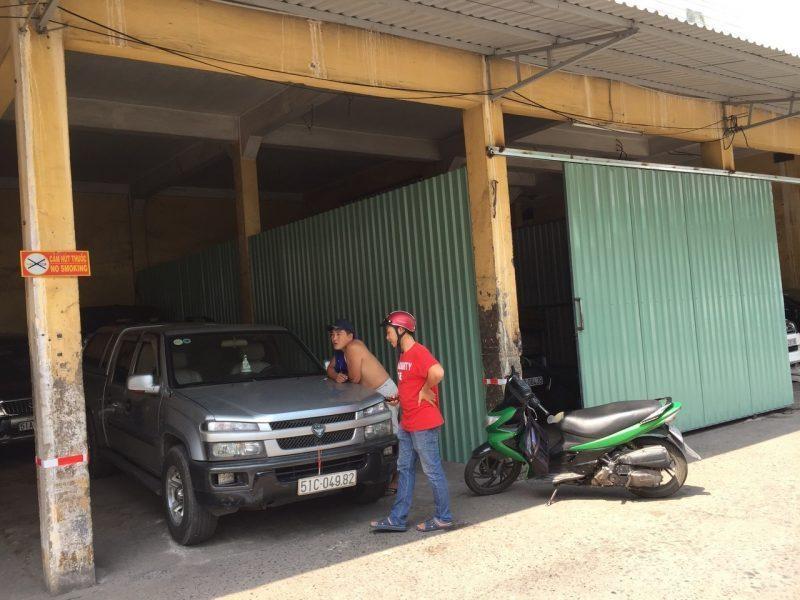 Cho thuê kho đường Trần Quý, quận 11, diện tích 12x8m