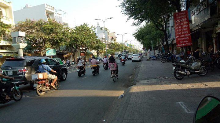 Nhà mặt tiền Minh Phụng, p.10, quận 11, diện tích 37m2