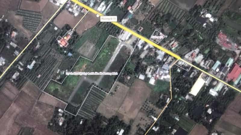 Sang nhượng dự án 1/500, mặt tiền Đoàn Nguyễn Tuấn-Hương Lộ 11-Quy Đức-Bình Chánh, diện tích 2,6ha