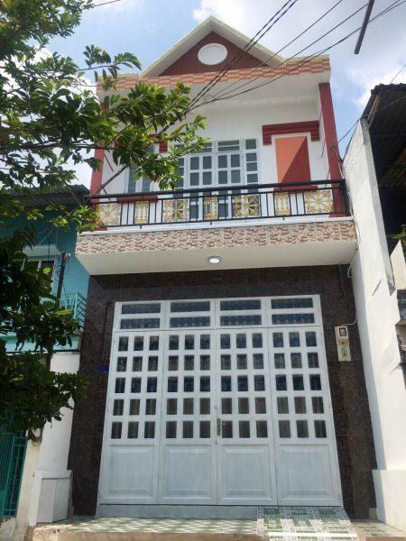 Bán nhà hẻm lớn Mã Lò, p. Bình Trị Đông A, Bình Tân, Dt 5x16m