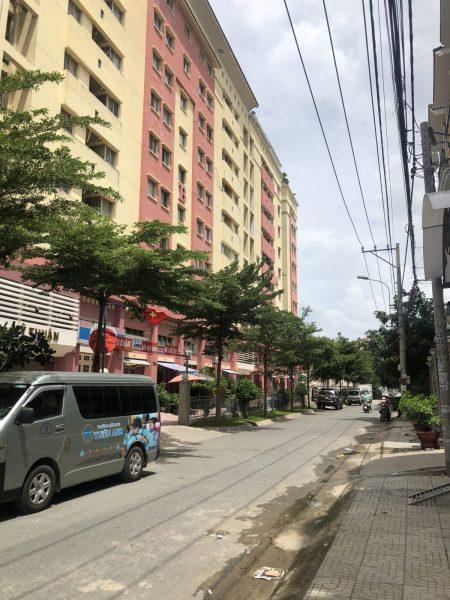 Bán nhà phố đối diện chung cư đường An Dương Vương, p.16, quận 8, dt 4.6x17m