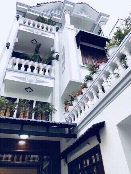 Bán nhà hẻm Trần Thái Tông, P.15, Quận Tân Bình, Dt 6×15,5m, 3 lầu