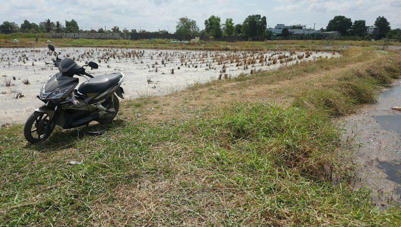 Bán lô đất vườn đường Liên Ấp 2-3, xã Đa Phước, h. Bình Chánh, Dt: 1237m2