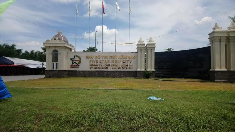 Bán lô đất trong khu dân cư Fivestar, xã Phước Lý, Cần Giuộc, Long An, Dt 6x15m