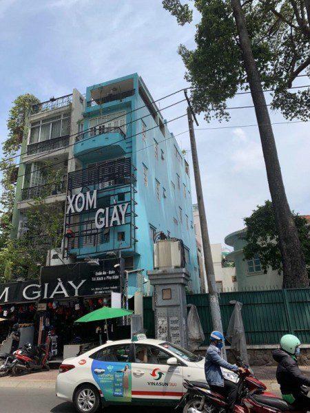 Bán nhà mặt tiền đường Lý Chính Thắng, Phường 14, Quận 3, Dt 4x20m