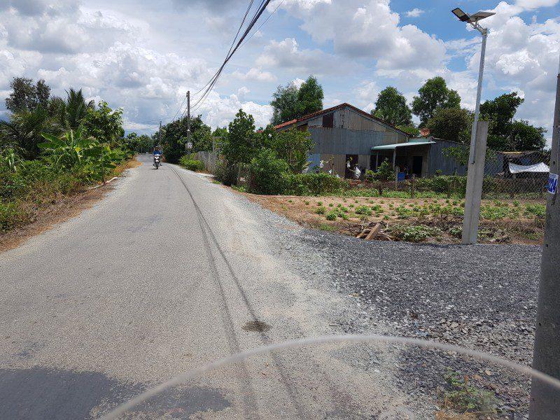 Bán lô đất mặt tiền đường Kênh Cầu Đen, ấp Trong, xã Phước Hậu, huyện Cần Giuộc, tỉnh Long An, Dt 6x22,5m