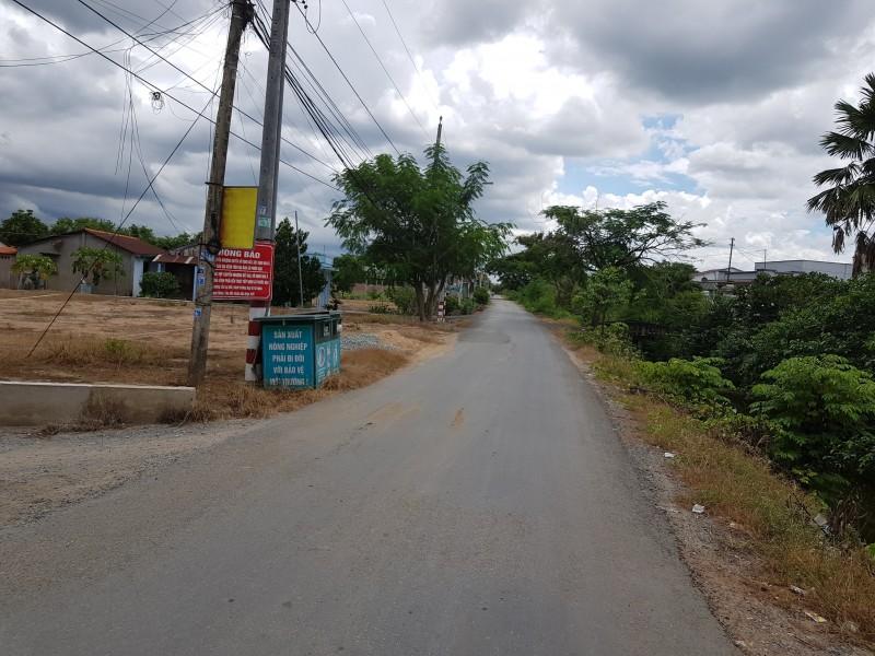 Bán lô đất thổ cư tại ấp Long Giêng, xã Phước Hậu, huyện Cần Giuộc, Long An, dt 6x16m