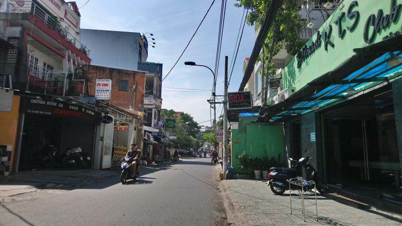 Bán lô đất mặt tiền đường 100 Bình Thới, phường 14, quận 11, diện tích lớn 837m2